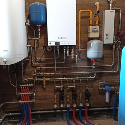 Установка газовых котлов отопления в Тюмени