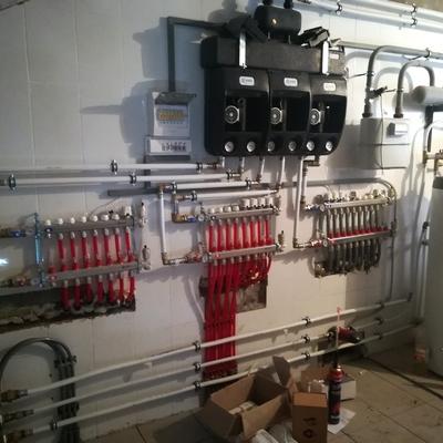 Монтаж системы отопления в Тюмени