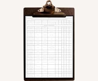 Список установленного оборудования